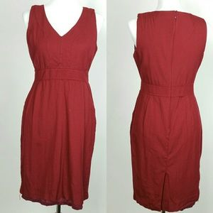 J.crew Bridget Dress wool with pockets size 8